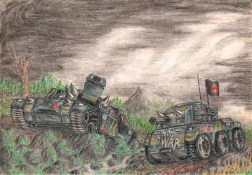 Hog's Hunting Horde by LuBronyr