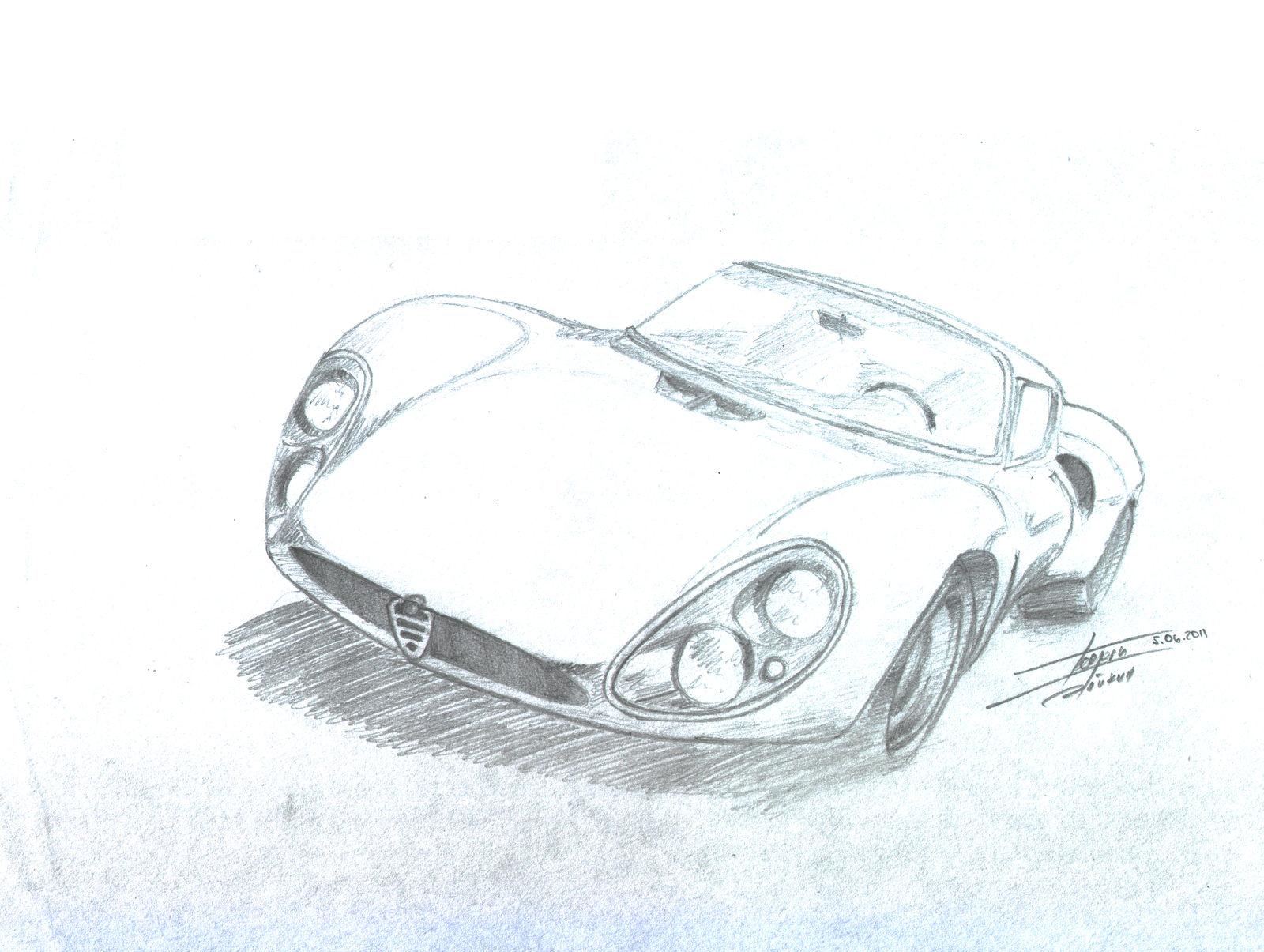 Alfa Romeo Tipo 33 Stradale by georgiboykin