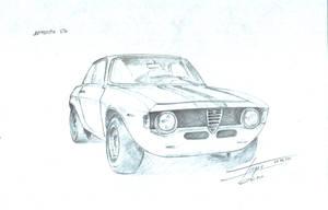 Alfa Romeo GTA Autodelta by georgiboykin