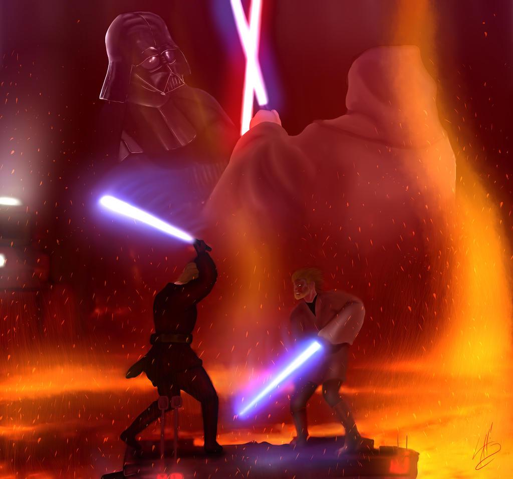 Obi-Wan Kenobi vs. Anakin Skywalker (1st Place!) by ...