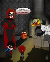 Batfamily by SylunaHirokashi