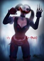 Why So Serious, Bat-Brain - Harley Quinn's Revenge by SylunaHirokashi