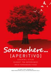 Somewhere Menu Cover by jeanpaul