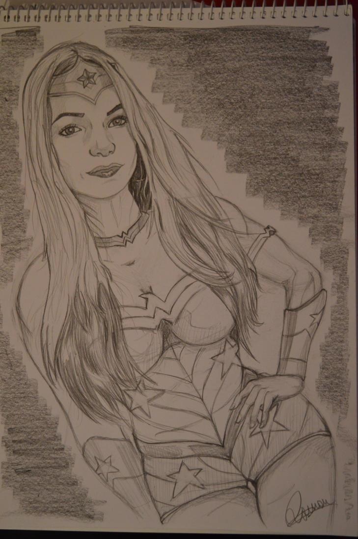 My Wonder Woman (sketch) by Broler