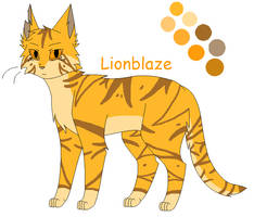 Lionblaze-REFERENCE by Holly2001