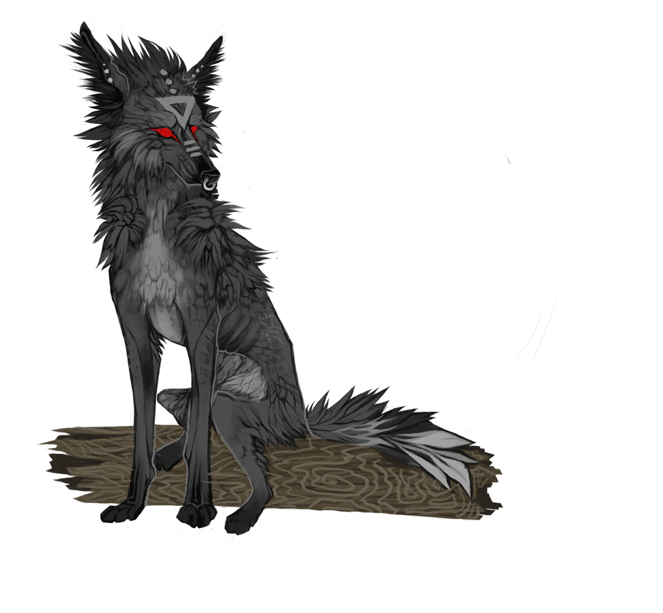 Wolfhome pose by Nukeshi