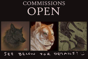 commissions OPEN (semi- emergency??)