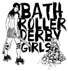 Bath Roller Derby Girls by steph68a