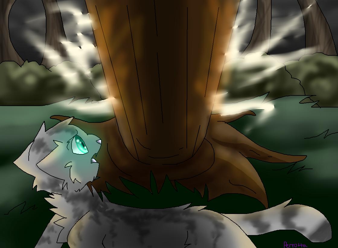 Falling down~ A Warrior OC Death scene