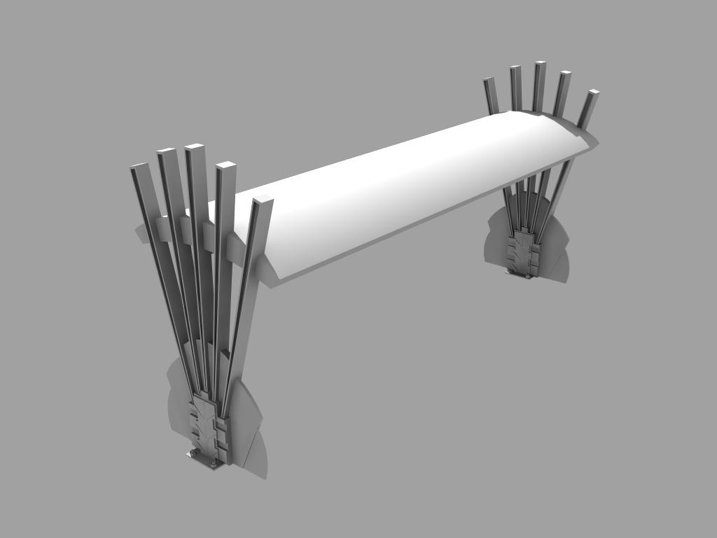 Art Deco Platform Bench By Andyrankine On Deviantart