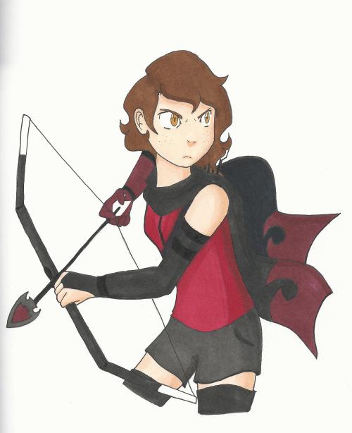 Mayu the Huntress by Pinkiekitty
