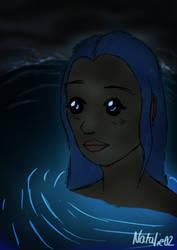 Mermaid in a Cave