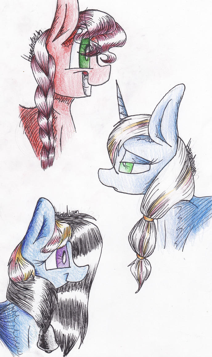 The Three of 'Em by CatHannah12