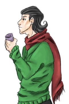 Loki Doodle by razorflame45