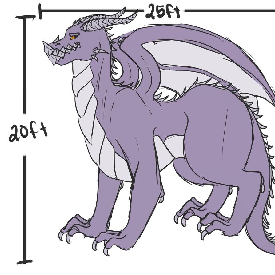 Full Dragon Ref by razorflame45