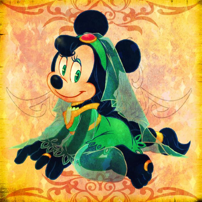Arabian Minnie by marezon-m