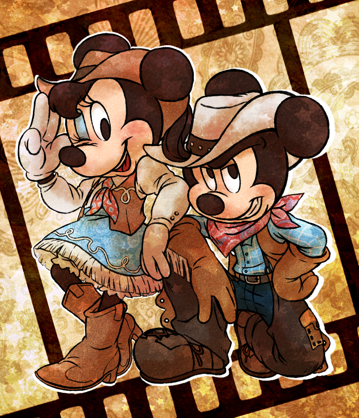 Cowboy and Cowgirl by marezon-m