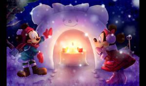 Snow hut by marezon-m