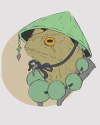 Frog tattoo design