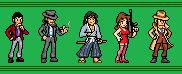 Lupin III JUS Character Set