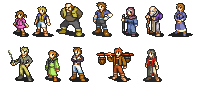 NPC Sprites by Captain-Supreme