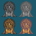 Pixel Iron Throne by Captain-Supreme