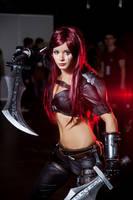 Katarina cosplay by PlaySafeee