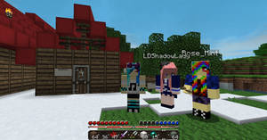 Screenshot with LDShadowLady! by RoseminttheNeko
