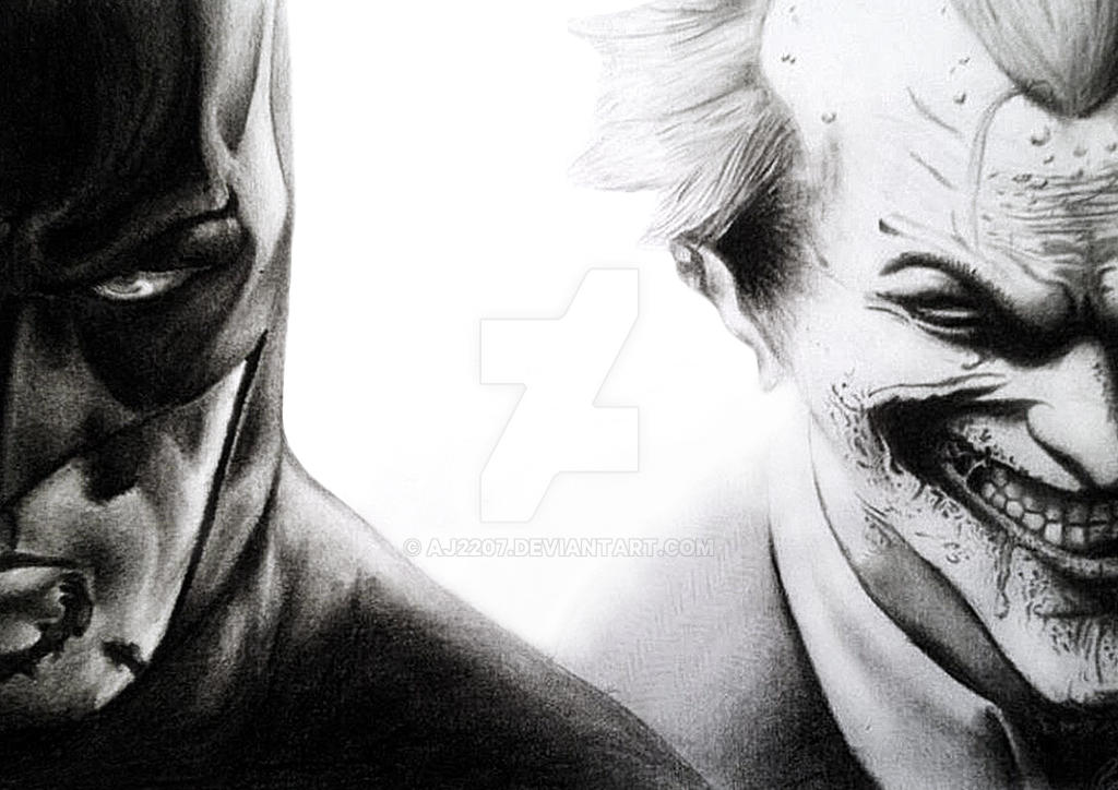 Batman and Joker by Aj2207