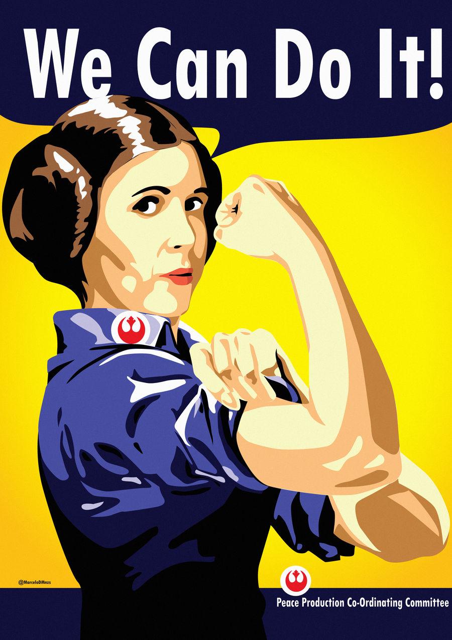 Leia the Riveter