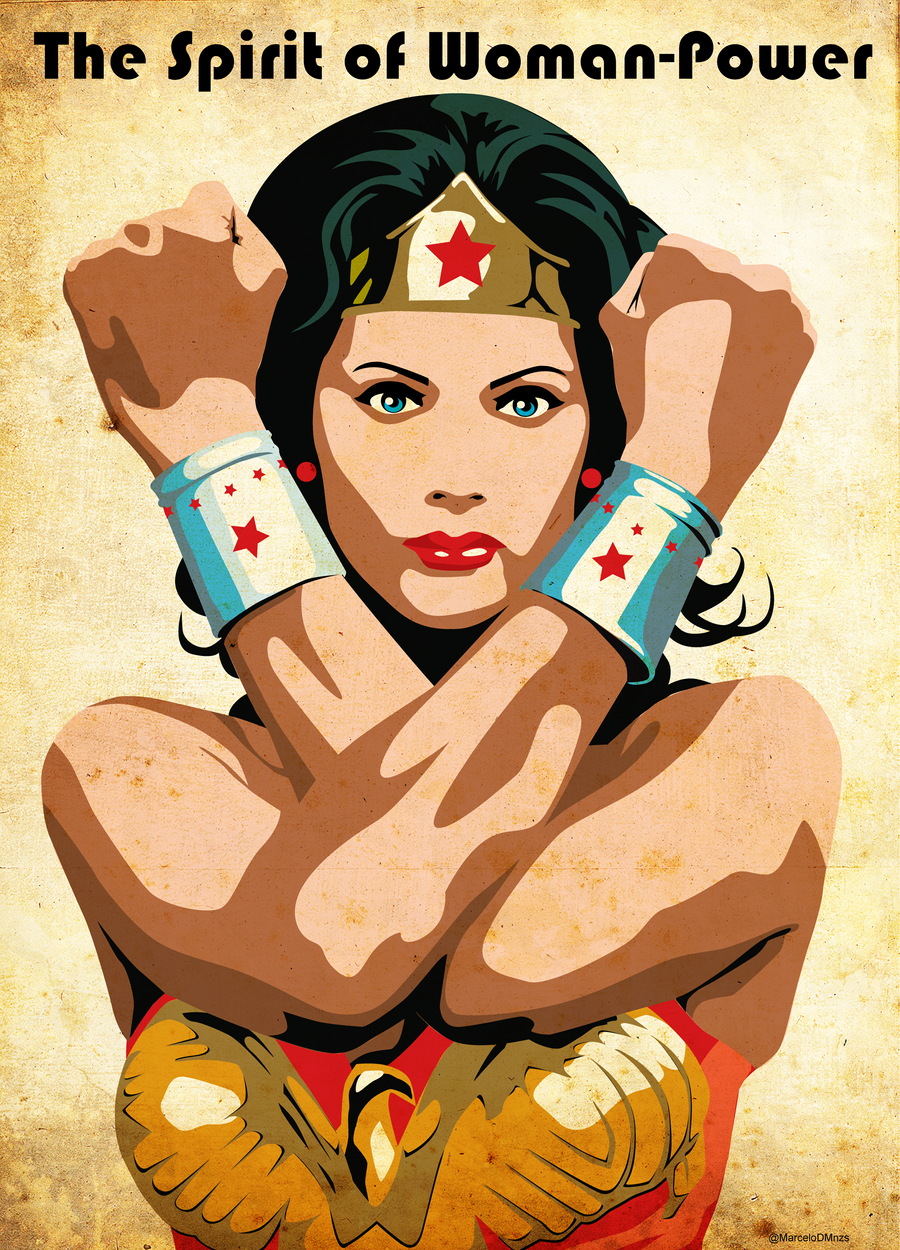 Wonder Woman by MarceloDZN