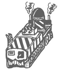 Ork Pain Train (Modified) by ProcrastinatorDIW