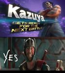Thor Reaction to Kazuya Mishma in Smash Ultimate