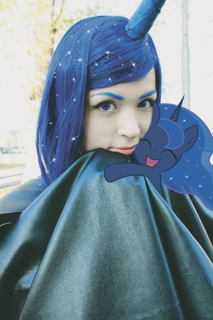 Me and my cute Luna by Hitsachka