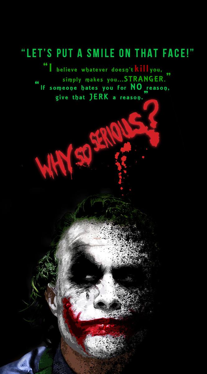 Joker Mobile Wallpaper 2 By Asharts6
