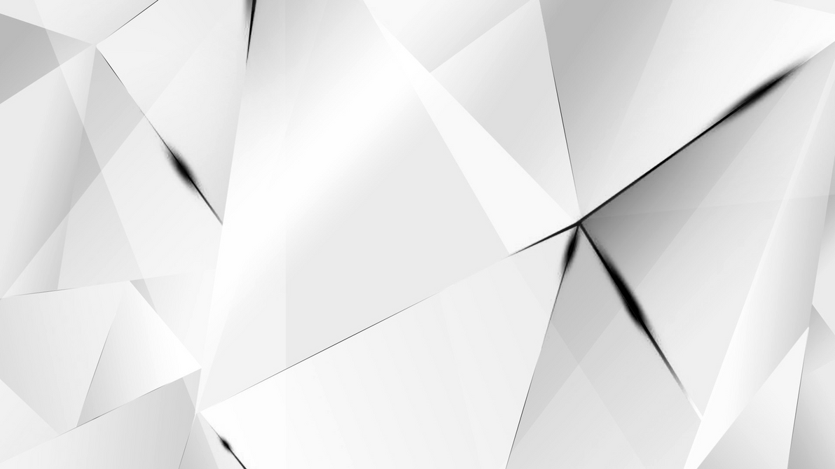 Wallpapers - Black Abstract Polygons (White BG) by ...