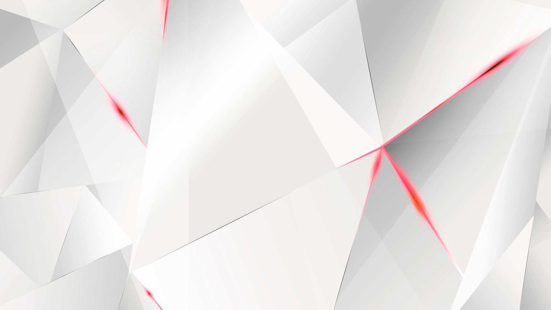 wallpapers red abstract polygons white bg by