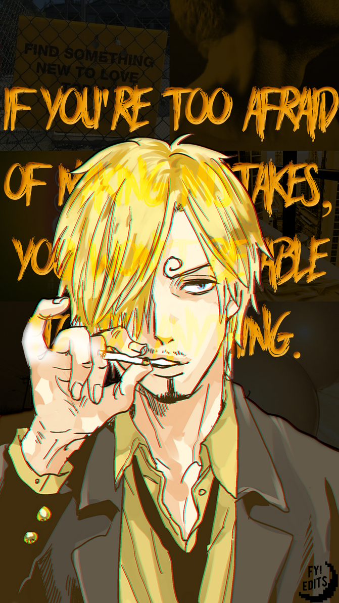 46 Sanji One Piece By Allyalienn