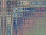 Lyapunov's Textured Glass