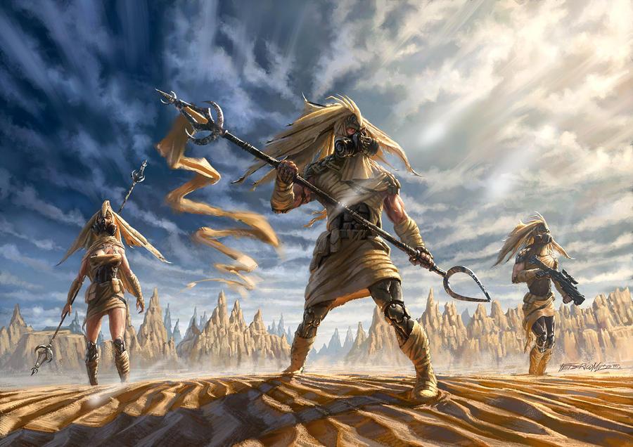 Desert predators by FedericoMusetti