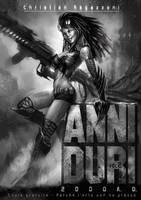 Cover 'Anni Duri' by FedericoMusetti