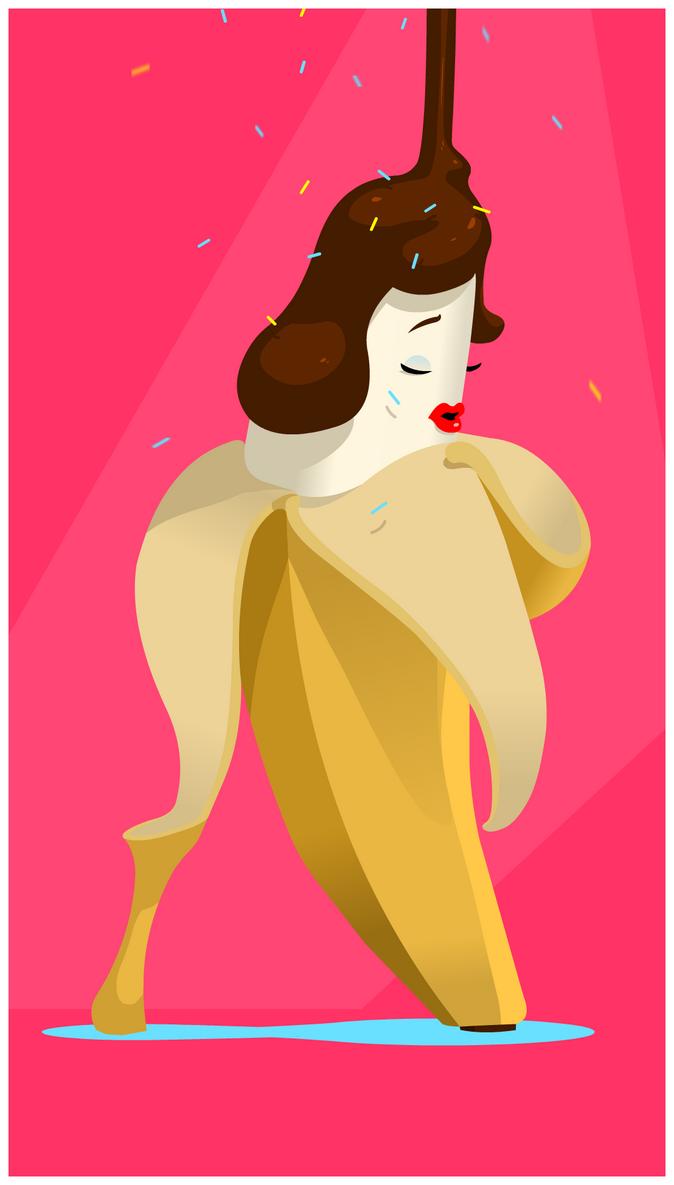 Sexy Bananana by lei-ji-hou