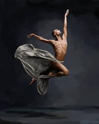 Sean Aaron Carmen (NYC Dance Project) - Study by Erynnia