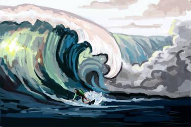 Big Waves by Erynnia