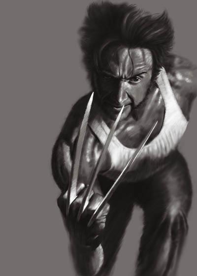 Wolverine by jiangchen