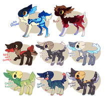 Huge fishy auction ! closed by vilhoadopts