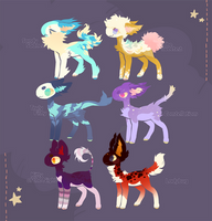Fishling auction batch ~ CLOSED ! by vilhoadopts