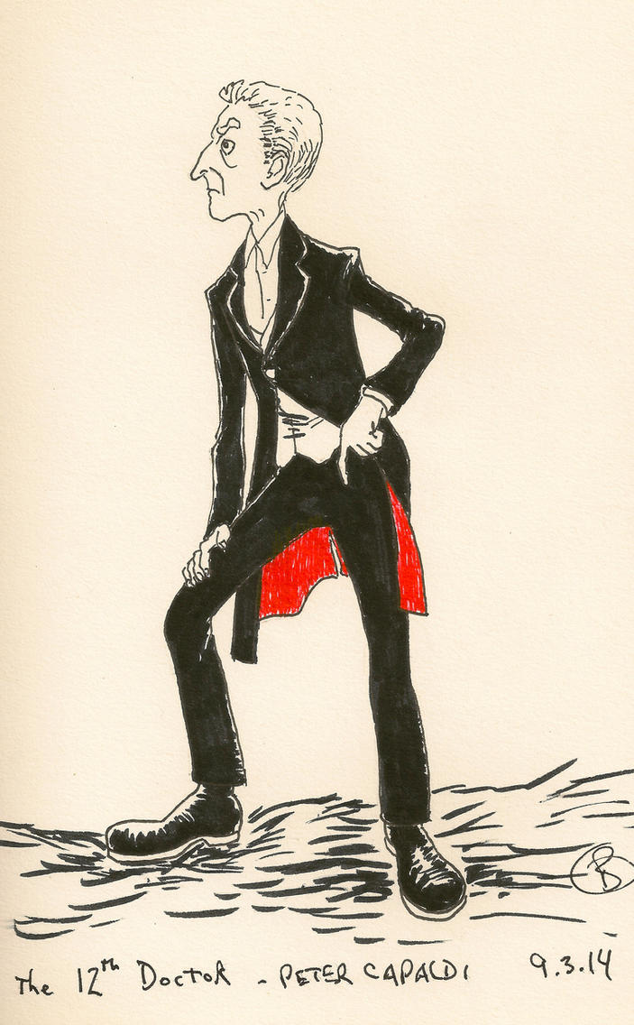 The 12th Doctor - Peter Capaldi by crutchoffalstaff