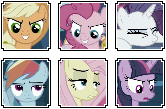 Mean 6 Icons by Bezziie