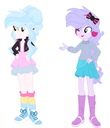 Bubblegum and Violet New Looks